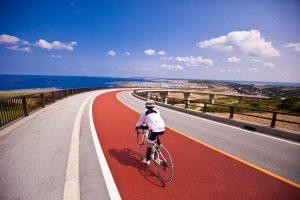 沖縄・久米島 自転車 バイク シュガーライド